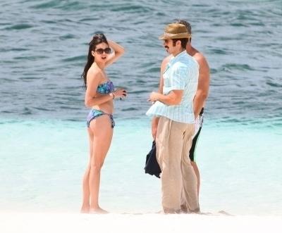 Nina Dobrev - Gansevoort Resort Turks and Caicos