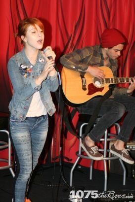 Paramore 1075 The River Acoustic Radio Session