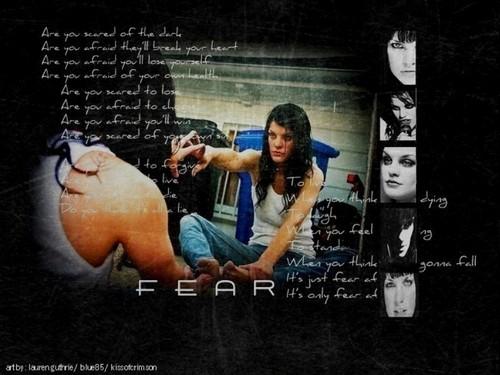 NCIS - Unità anticrimine - Unità anticrimine wallpaper titled Pauley Perrette- Fear