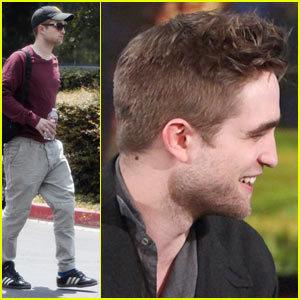 Pic Of Rob's Short Hair