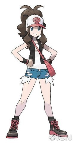 Pokemon Black & White wallpaper entitled Pokemon Black and White, Girl