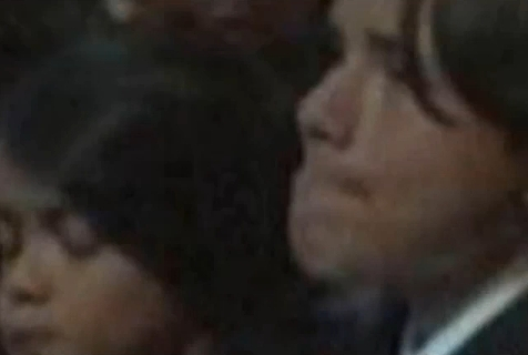 Prince crying at memorial :(