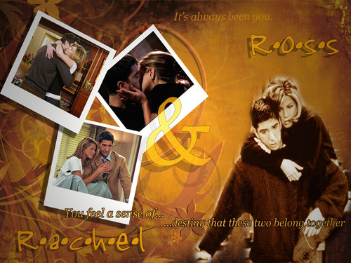 Ross and Rachel wallpaper called Rachel and Ross