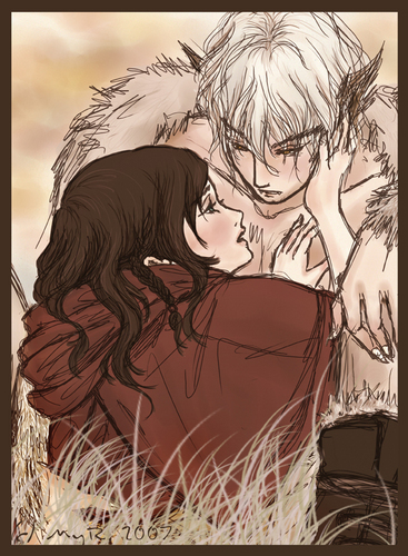 Red riding hood and the white wolf