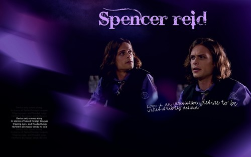 criminal minds wallpaper called Reid