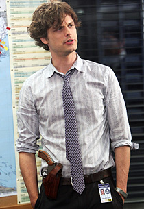 Criminal Minds achtergrond called Reid's New Hair Cut!