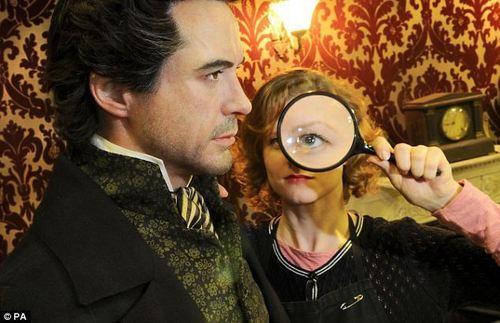 Sherlock Holmes hình nền titled SH