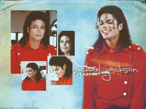 Michael Jackson wallpaper called SMILE