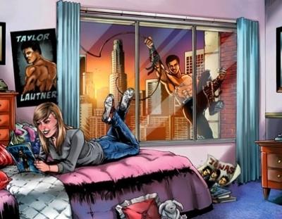 Taylor Lautner's Fame Comic Book