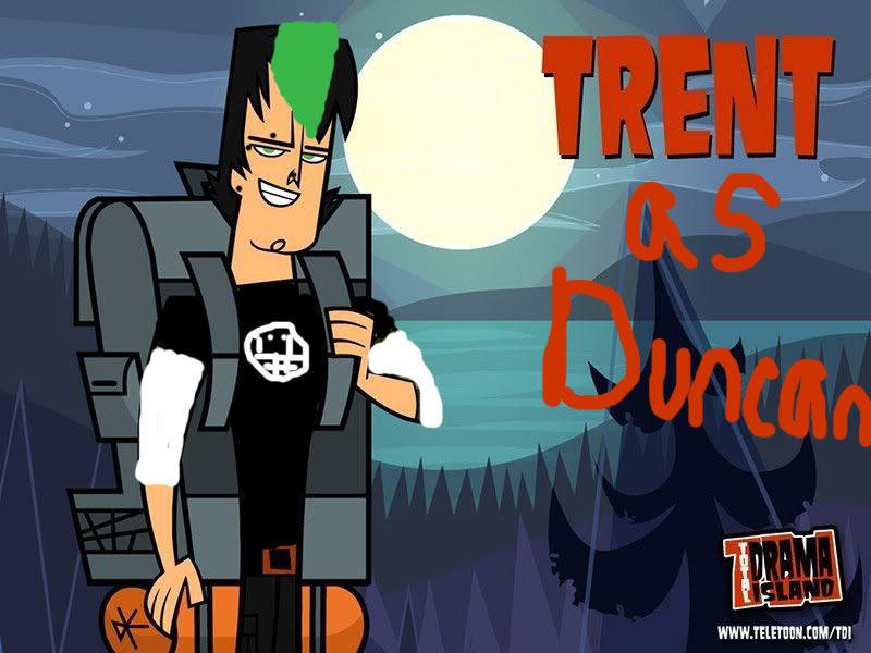 Trent as Duncan
