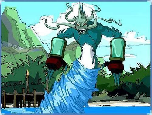 Jackie chan adventures images water demon drago wallpaper for Jackie chan adventures jade tattoo