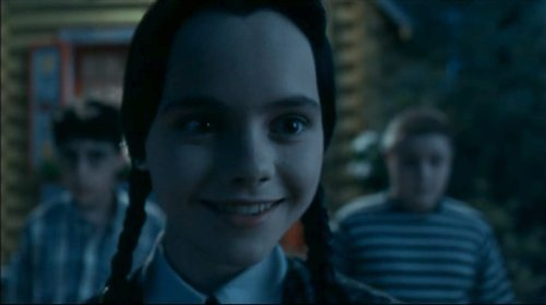 Addams Family wallpaper titled Wednesday Smiles