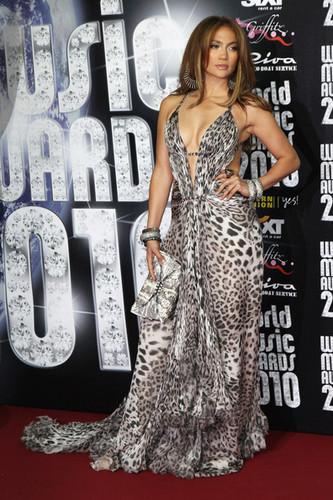 World Musica Awards 2010 - Arrivals