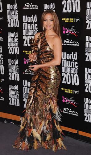 World Музыка Awards 2010 - Press Room