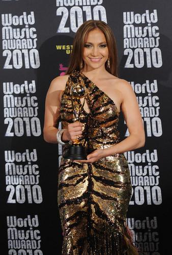 World muziki Awards 2010 - Press Room