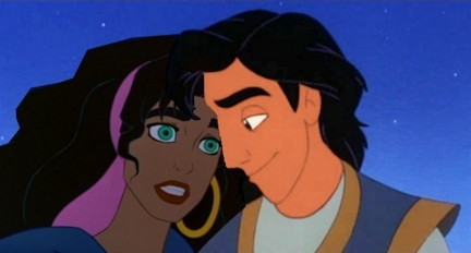aladdín and esmeralda