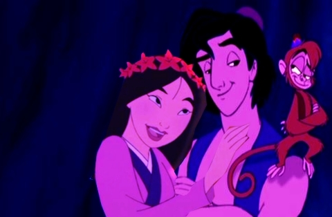 Aladdin and Mulan