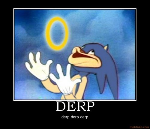 Shadow The Hedgehog wallpaper called derp