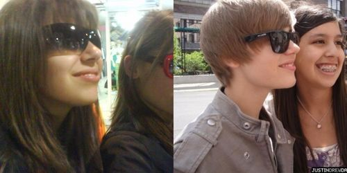 does this girl look like justin bieber?
