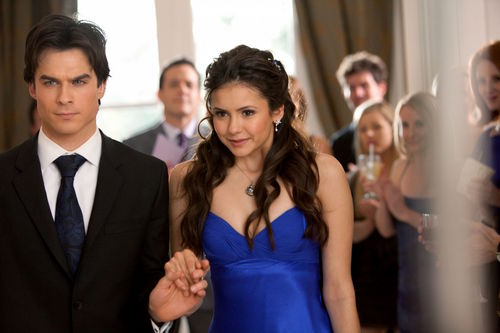 The Vampire Diaries TV Show wallpaper entitled ep19-delena