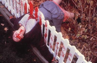fence fake death