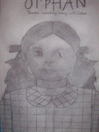 hand drawn orphan