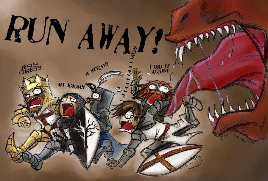 holy monty python run away !!!
