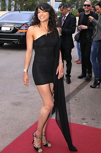 Michelle Rodriguez at the World musik Awards in Monaco 5-18-2010