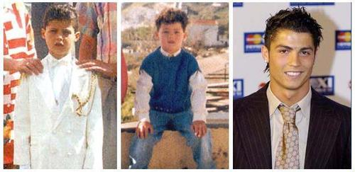 Cristiano Ronaldo achtergrond called ronaldo kid