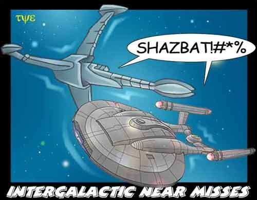 the lighter side of sci-fi