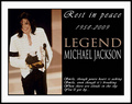 * R.I.P KING ÖF POP MICHAEL JACKSÖN * - michael-jackson photo