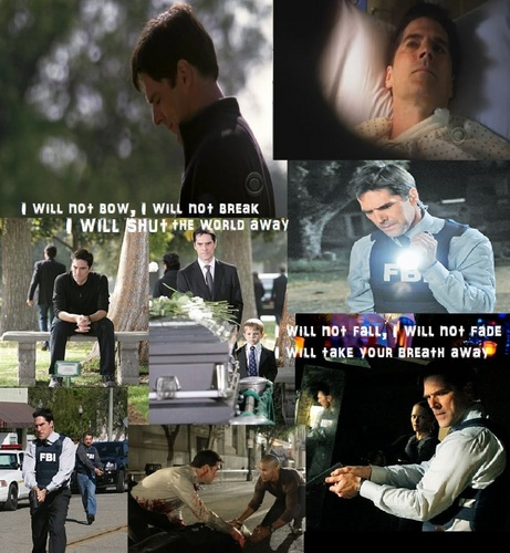 SSA Aaron Hotchner wallpaper called Aaron Hotchner- I Will Not Bow