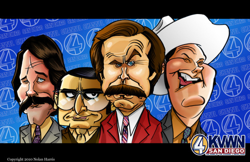 Anchorman Caricature
