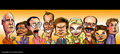 Arrested Development Caricature