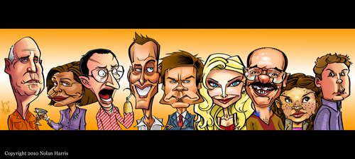 Arrested Development Caricature - arrested-development Fan Art