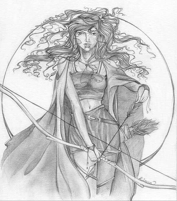 Famous Line Of Artemis : Pin artemis greek goddess symbols for on pinterest