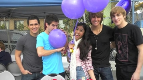 Ashleys birthday party picture