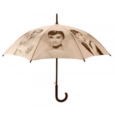 Audrey Hepburn Umberella For Etie <3