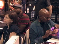 Avery Brooks,Cirroc Lofton and Nicole de Boer
