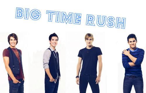 Big time rush BGS made sa pamamagitan ng me :)