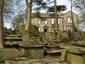 Bronte Parsonage In Haworth Yorkshire