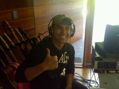 Carlos' Twitter: BTR in the Recording Studio