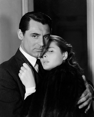 Cary Grant and Ingrid Bergman