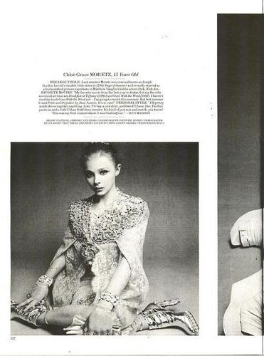 Chloe in Interview Magazine