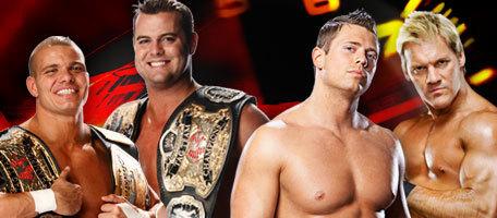 Chris Jericho and The Miz vs The Hart 다이너스티