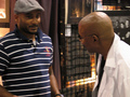 Cirroc Lofton and Avery Brooks - star-trek-deep-space-nine photo