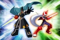 Colonel & Protoman - megaman-and-sonic-the-hedgehog photo
