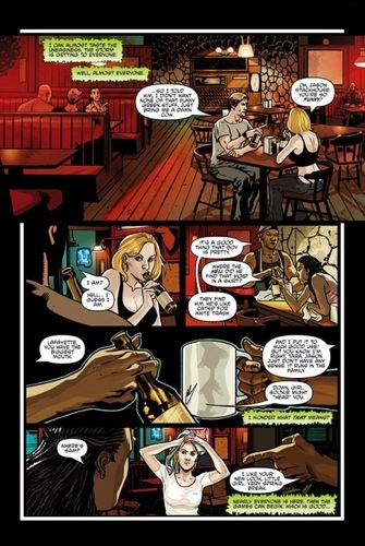 Sookie Stackhouse wallpaper titled Comic Book