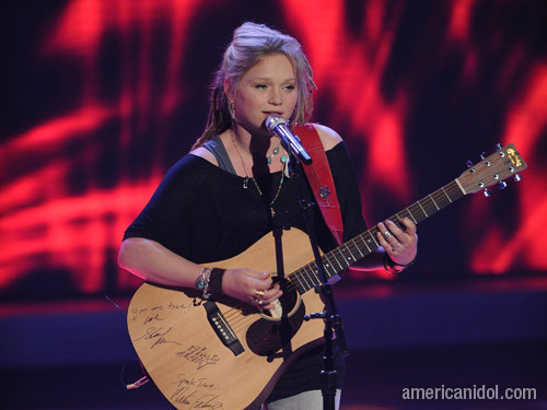 """Crystal Bowersox singing """"Come Together"""""""