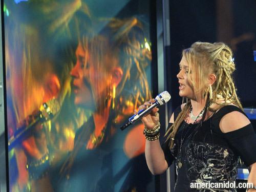 """Crystal Bowersox singing """"Maybe I'm Amazed"""""""